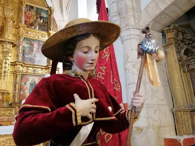 Restauración Virgen Peregrina Zamora