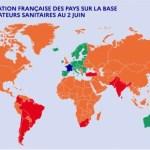 Las fronteras de Francia se reabrirán a los viajeros