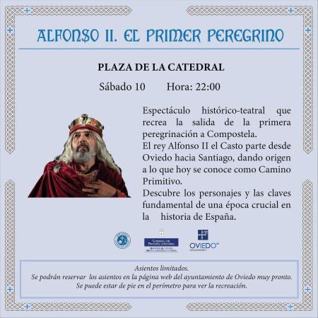 Alfonso II, el primer peregrino