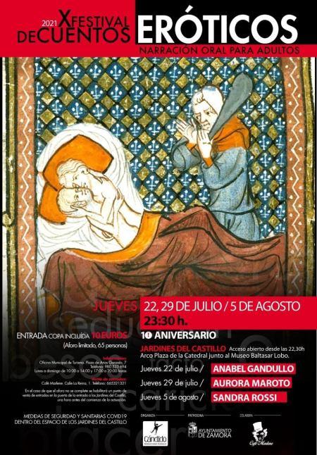 Festival de Cuentos Eróticos de Zamora