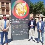 El presidente de la Diputación acude a la inauguración de La Iberoamericana en Toro