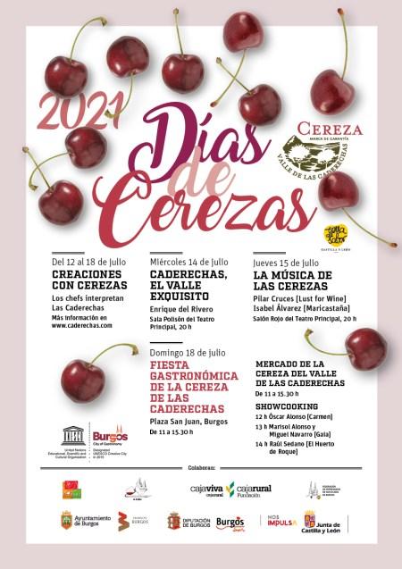 Cartel Dias de Cerezas 2021