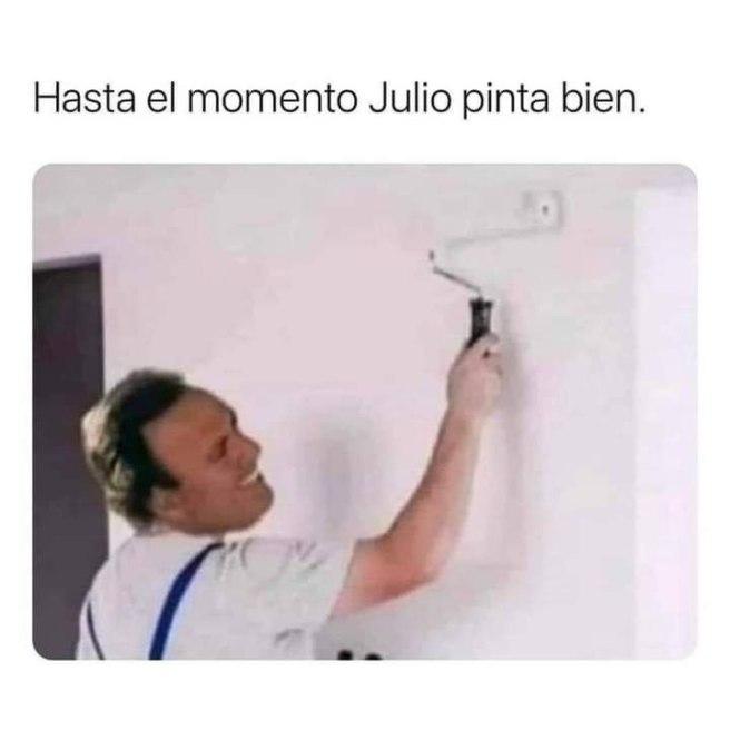 JULIO PINTA BIEN