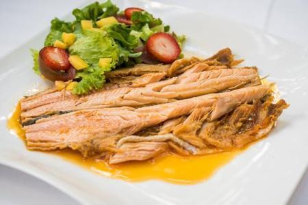 Trucha de la Fuentona escabechada, La Cocina de María Luisa