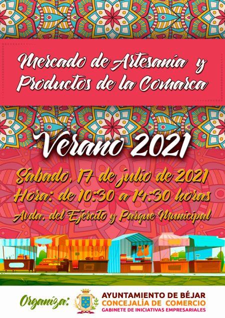 Mercado de de Artesanía y productos de la comarca de Béjar