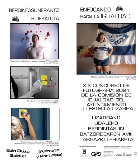 XIX CONCURSO de Fotografía de la COMISIÓN de IGUALDAD del AYUNTAMIENTO de ESTELLA-LIZARRA