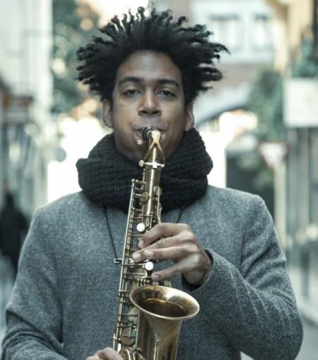saxofonista César Filiú Douglas