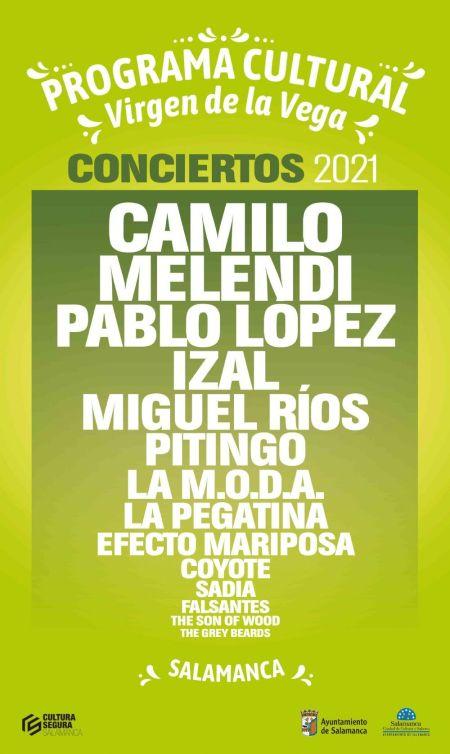 entradas para los conciertos de Melendi, Pablo López, Izal, Miguel Ríos, Pitingo, La MODA, La Pegatina y Efecto Mariposa