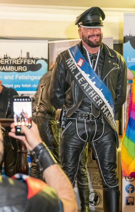 elección míster leather hamburgo