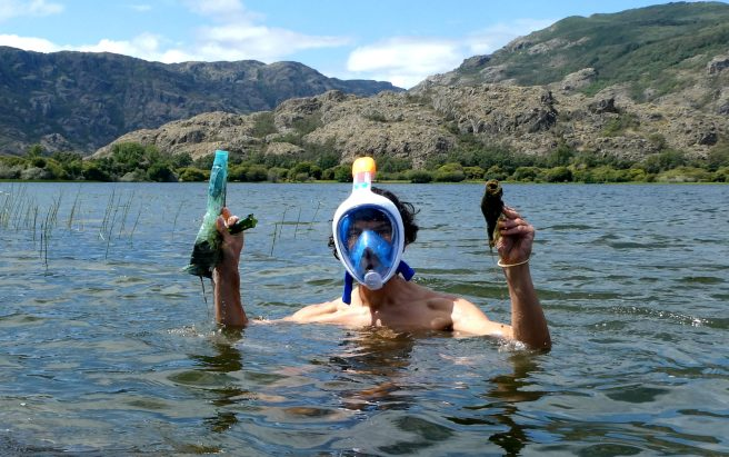 CRYOSANABRIA realiza recogidas acuáticas de residuos en el Lago de Sanabria