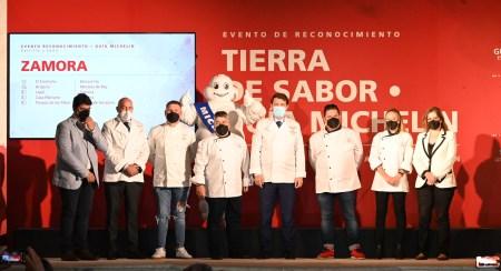 Reconocimiento a los restaurantes incluidos en la Guía Michelin Zamora
