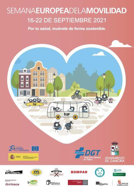 Zamora se suma la Semana Europea de la Movilidad