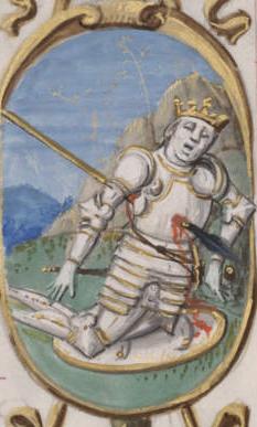 Muerte del rey Bermudo III de León por Alonso de Cartagena
