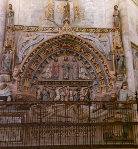 sepulcro de Ordoño II en la catedral de León