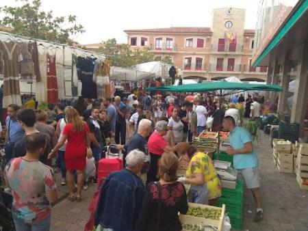 tradicional mercado valencia de don juan