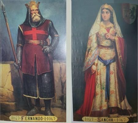 Fernando I y Sancha de León