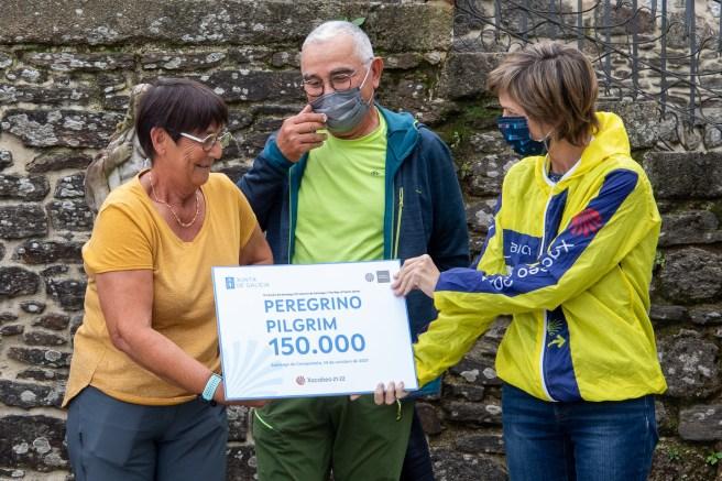 entrega de la Compostela número 150.000