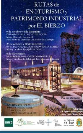 Rutas de enoturismo y patrimonio industrial por El Bierzo