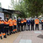 5.000 peregrinos visitan el punto de atención de la Agrupación Municipal de Protección Civil de León