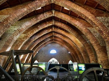 Interior Museo de la Minería y la Siderurgia de Castilla y León Sabero (Copy)
