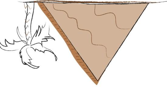la piramide invertida de la información