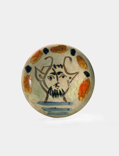 Picasso masque faune 1953 recto