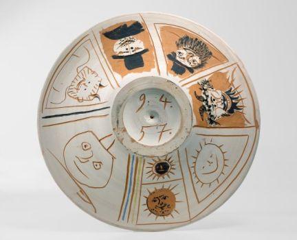 Picasso soleil faunes 1957