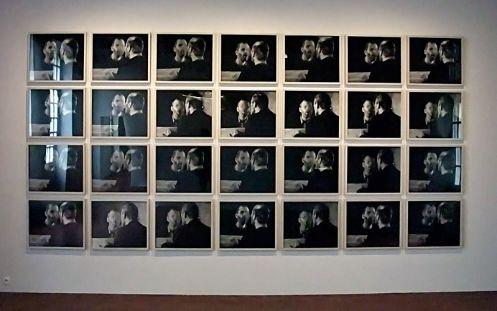 Dieter Appelt, Der Fleck auf dem Spiegel, den der Atemhauch schafft (La tache que laisse le souffle sur le miroir), 1979