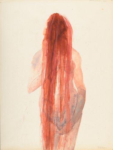 Berlinde De Bruyckere, Bloedend haar, 2000