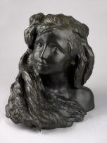 Camille Claudel, Aurore, vers 1900. Sculpture en bronze, Courtesy galerie Malaquais © Laurent Lecat