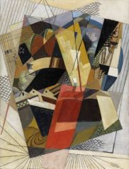 Albert Gleizes Perspective (Port), 1917