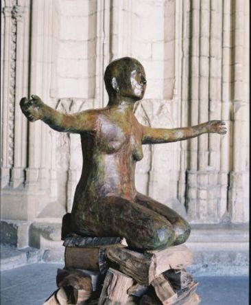Kiki Smith, Pyre Woman Kneeling, 2002