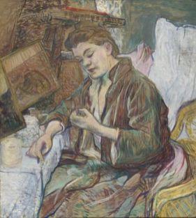 Henri de Toulouse-Lautrec La Toilette : Mme Fabre, 1891