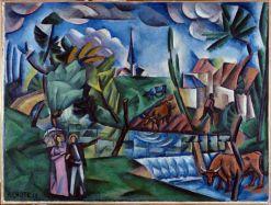 André Lhote, Paysage français, 1912