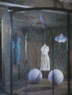 Louise Bourgeois, CellXXV(TheViewof theWorldof theJealousWife), 2001