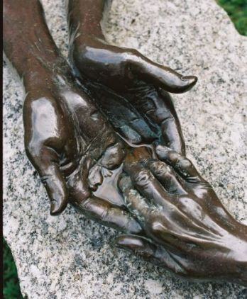 Louise Bourgeois, The Welcoming Hands, 1996
