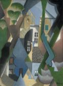 Jean Metzinger, Le Village, avril 1918