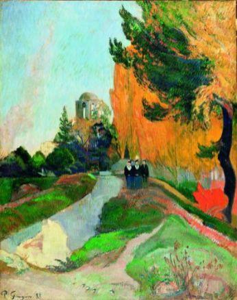 Paul Gauguin Les Alyscamps, 1888