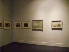 Gleizes et Metzinger avant 1911 - Vue de la salle : Les oeuvres de Gleizes