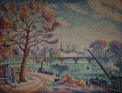 Paul Signac, Le Pont des Arts, 1929