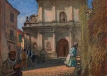 Raouf Dufy,L'Église (Jonquère, Martigues)1903