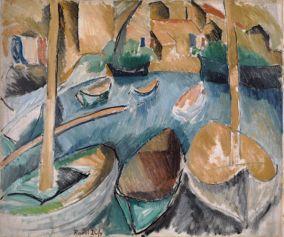 Raoul Dufy, Les barques aux Martigues, 1908