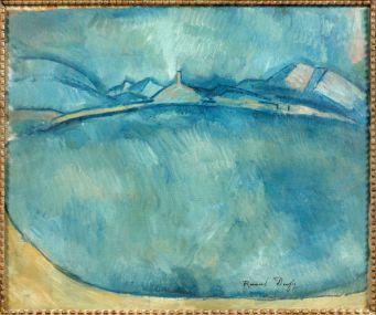 Raoul Dufy, Paysage de l'Estaque, vers 1910