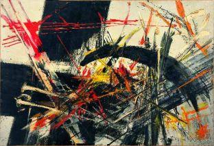 Judit Reigl, Sans titre, 1954-55