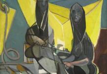 Édouard Pignon, Les remailleuses de filets, 1946