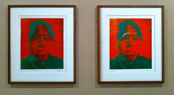 César, Hommage à Mao, 1973