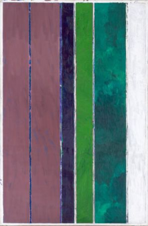 Vincent Bioulès, Bandes verticales n°2, 1974