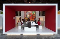 Vue de l'exposition Le Corbusier et la question du brutalisme - Espace multimédia