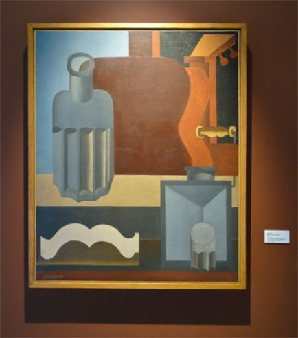 Le Corbusier, Guitare verticale, 1920