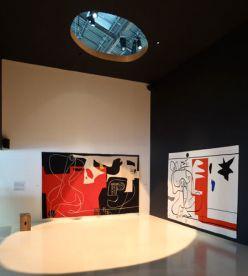 Le Corbusier, Les dés sont jetés, 1960, Bonjour Calder, 1958